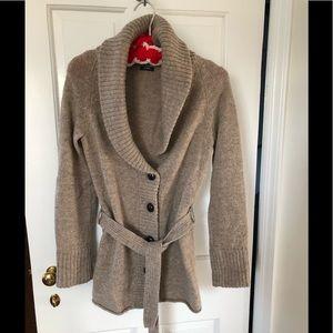 J. Crew cardigan wool sweater.